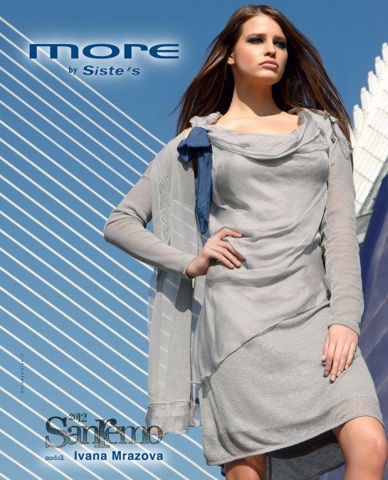 Ivana Mrazova model for More by Sistes