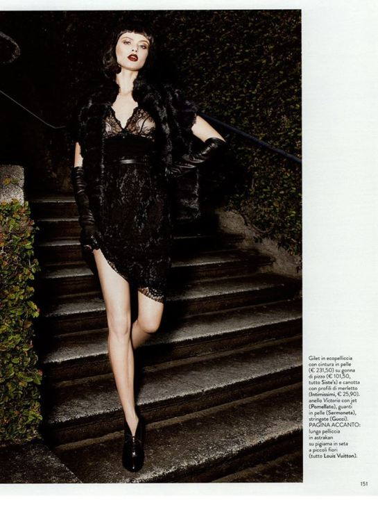 Fashion Editorial on Grazia, September Issue
